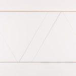 Claude Tousignant, Variation 59 : série de cinq tableaux a structure identique, symétrique et réversible, trouvé par hazard, 2019
