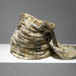 Nadia Myre, Untitled (Tobacco Barrel), 2018