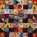 David Garneau, Casino (therapeutic) Quilt, 2012