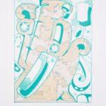 Sonny Assu, Landline #4, 2020