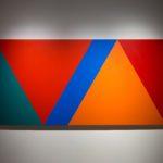 Claude Tousignant, Variation 59 : série de cinq tableaux a structure identique, symétrique et réversible, trouvé par hazard #1, 2019