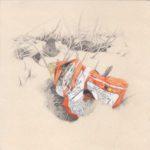 Paul Chartrand, Litter Drawing, 2012