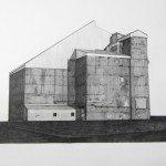 Simon Bilodeau, Ce que l'on ne voit pas qui nous touche: dessin, 2014