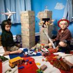 Jonathan Hobin, In the Playroom: The Twins, 2010
