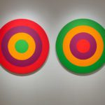 Claude Tousignant, le cirque (version II) (double circle), 1971