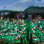 Diana Thorneycroft, The Battle of Queenston Heights (War of 1812), 2013