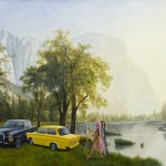 Kent Monkman, East vs. West, 2011
