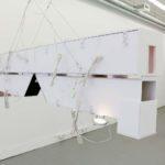 Erika Dueck, Untitled (Floating Books), 2016