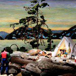Diana Thorneycroft, Group of Seven Awkward Moments (Jack Pine), 2007