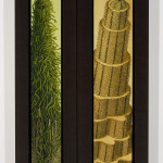 Judith Berry, The Emerging Tree / Collapsible Pin-Striped Hill, 2006