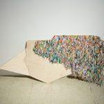 Juanita Lee, Folded Table Composition 2, 2016