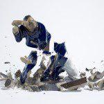 Martin Klimas, Untitled (Blue Man), 2005
