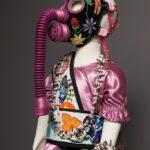 Naomi Bebo, Woodland Child in Gas Mask, 2015