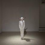 Jean-Robert Drouillard, Mon mammifère préféré (deux cornes de bovin), 2017-18
