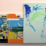 Natalie Bruvels, Candy Floss (diptych)