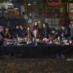 Dina Goldstein, Last Supper, East Vancouver, 2014