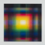 Ianick Raymond, Peinture CMYK (90°), 2020