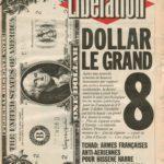 Sophie Calle, Fax similé journal Libération, 1989